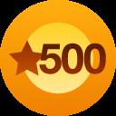 WP 500 + Likes Award