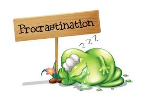 canstockphotoprocrastination