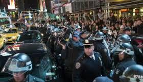 anti-cop police protest
