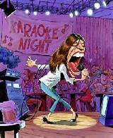 cartoon karaoke
